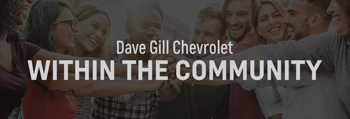 Dave Gill Chevrolet Within The Community  header