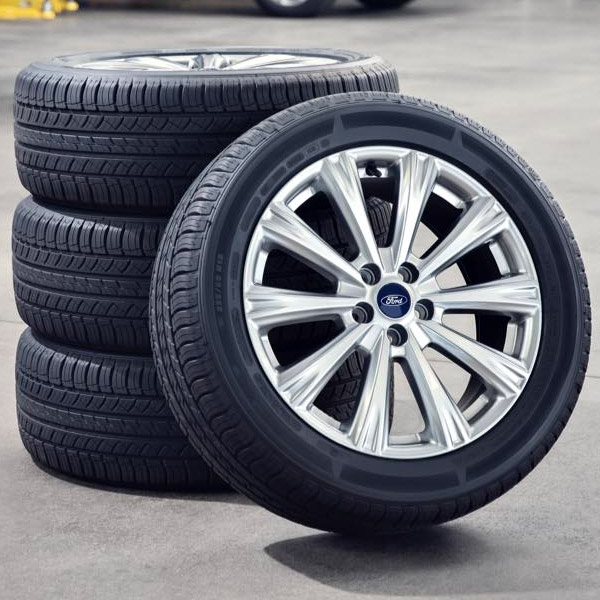set of 4 ford tires