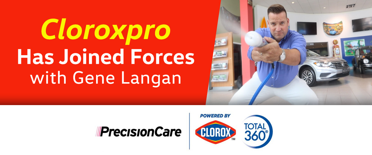 Precision Care By Clorox Total 360 At Gene Langan VW