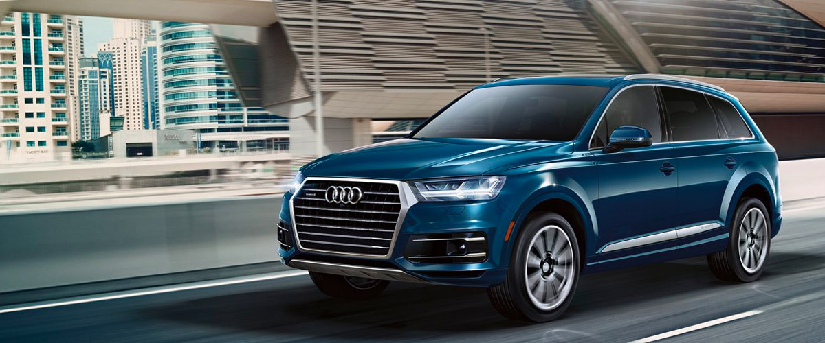 The all-new 2019 Audi Q7 header