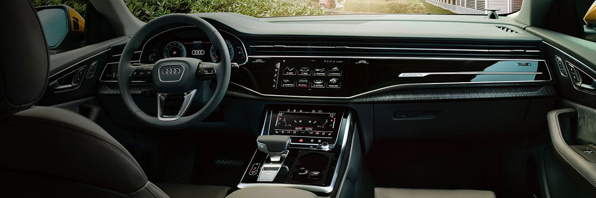 2020 Audi Q8 Interior & Technology