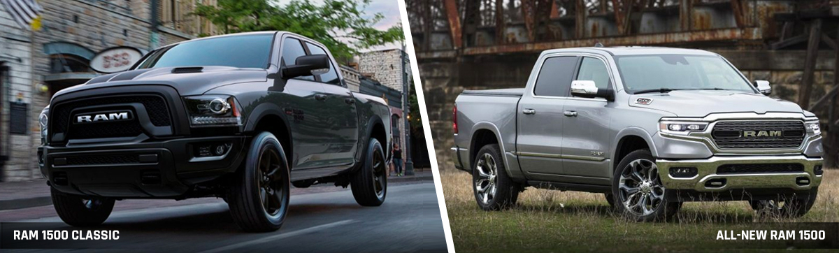 All-New Ram 1500 vs. Ram 1500 Classic header