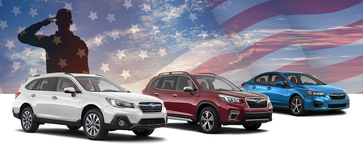 Baxter Subaru's Military Discount Program