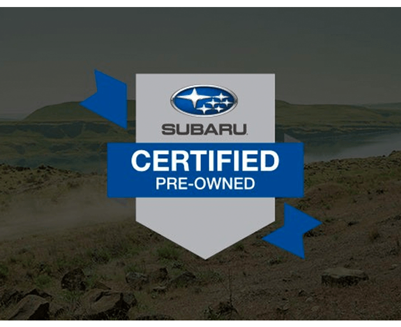 Certified Pre-Owned Subaru for Sale near Me