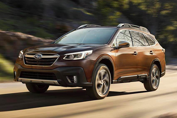 2021 Outback Touring shown in Cinnamon Brown Pearl