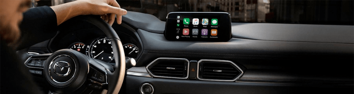 Liberty Mazda - What Can Apple CarPlay® Do? header