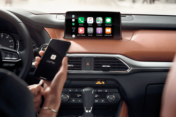 Liberty Mazda - What Can Apple CarPlay® Do?