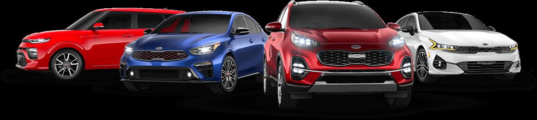 Kia vehicle lineup