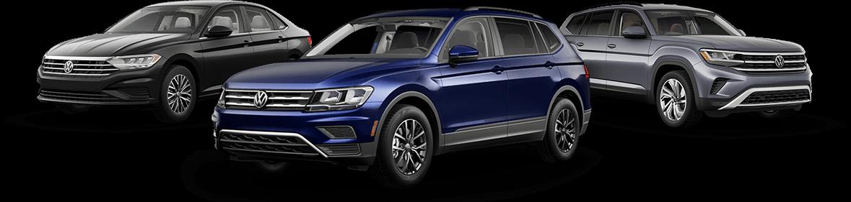 Volkswagen vehicle lineup