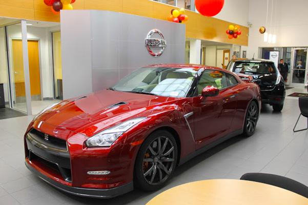 Mastria Nissan dealership photo