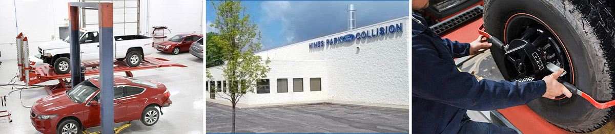 Hines Park Ford Collision Center Header