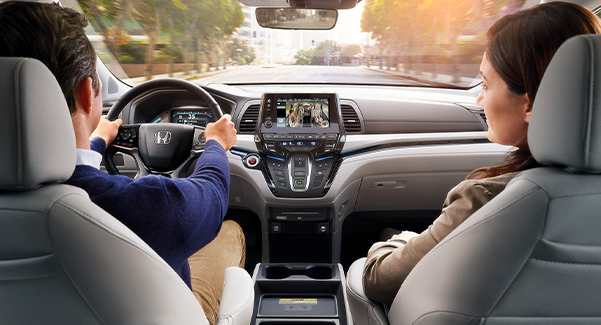 Honda Active Safety features such as standard Multi-Angle Rearview Camera and active stability systems.
