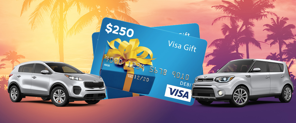 Purchase Your Next Vehicle At Jenkins Kia Of Ocala And Receive A Gift Card header
