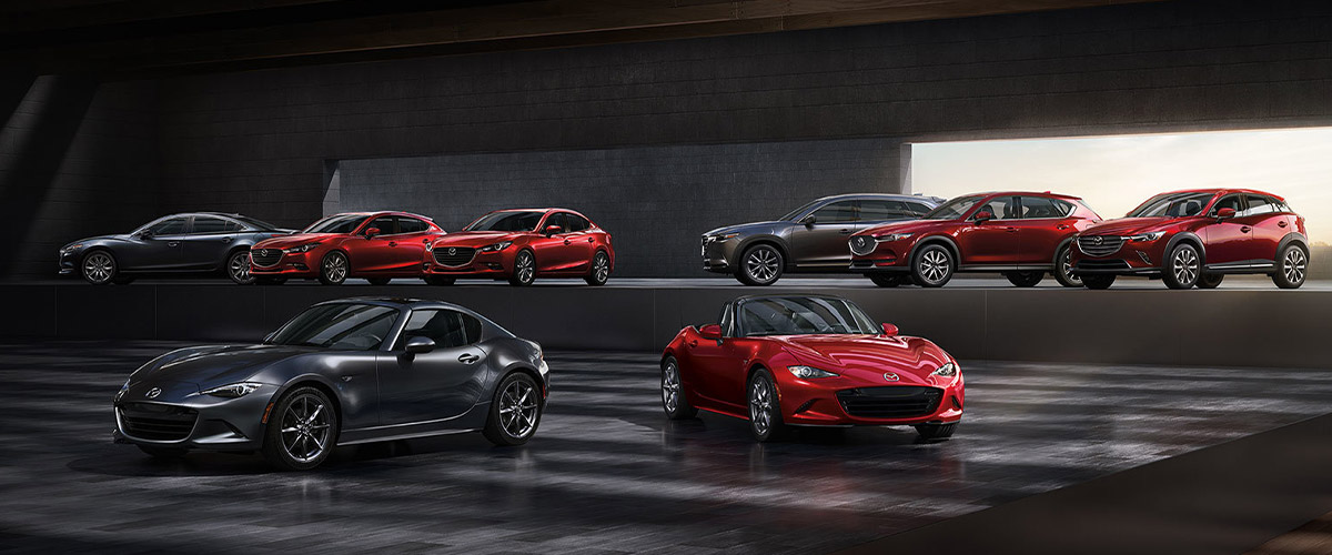 Purchase Your Next Vehicle At Jenkins Mazda Header