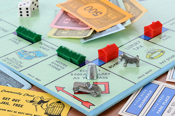 monopoly board game for kids