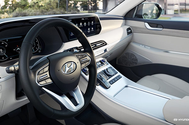 2020 Hyundai Palisade Interior & Technology