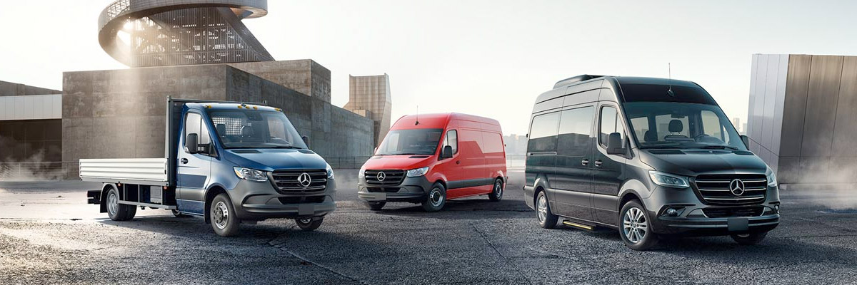 Find The Right Sprinter Or Metris Vehicle For You! Header