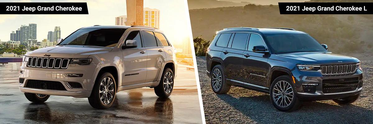 2021 Jeep Grand Cherokee and Grand Cherokee L
