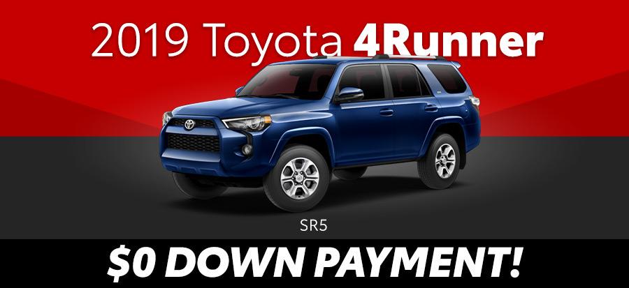 2019 Toyota 4Runner SR5 2wd (293648)