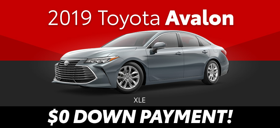 2020 Toyota Avalon XLE (293649)
