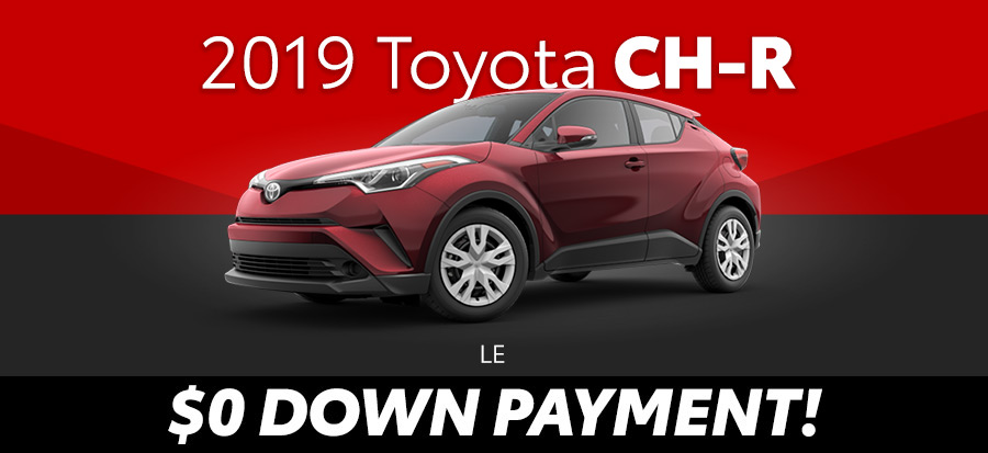 2019 Toyota CH-R LE (293664)
