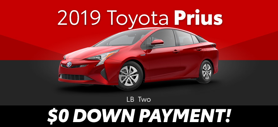 2019 Toyota Prius LB Two (293669)