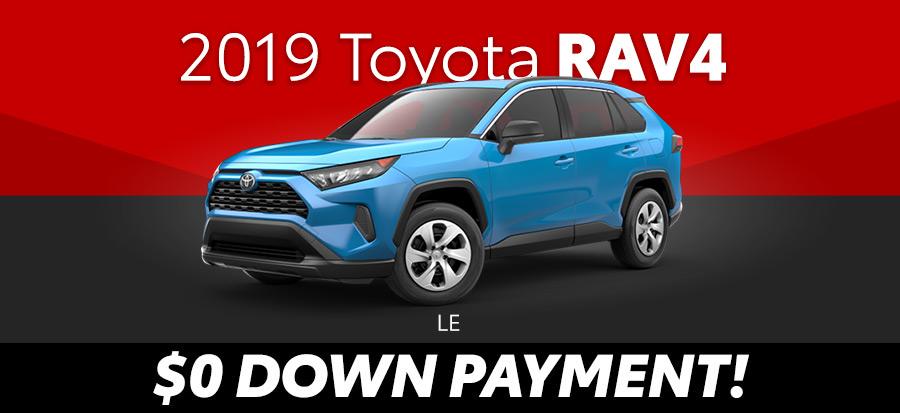 2019 Toyota Rav4 LE (293641)