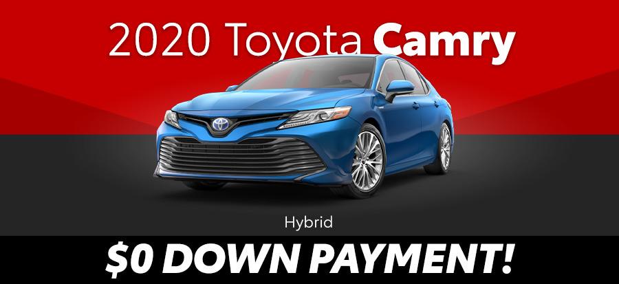 2020 Toyota Camry Hybrid LE (293676)