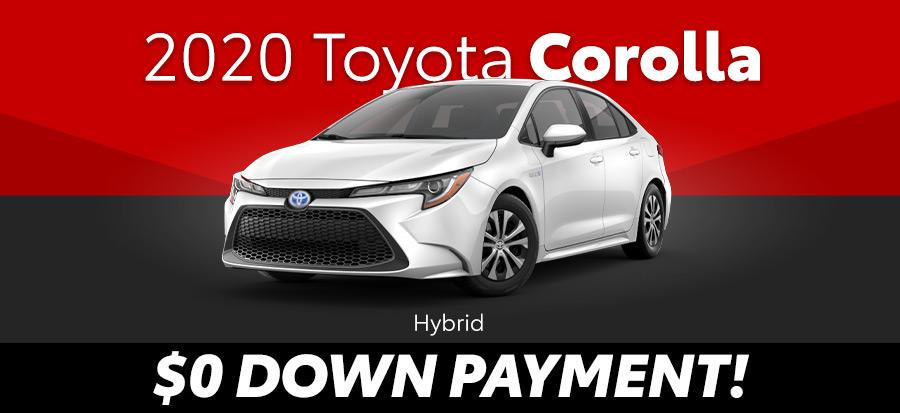 2020 Toyota Corolla Hybrid LE (293675)