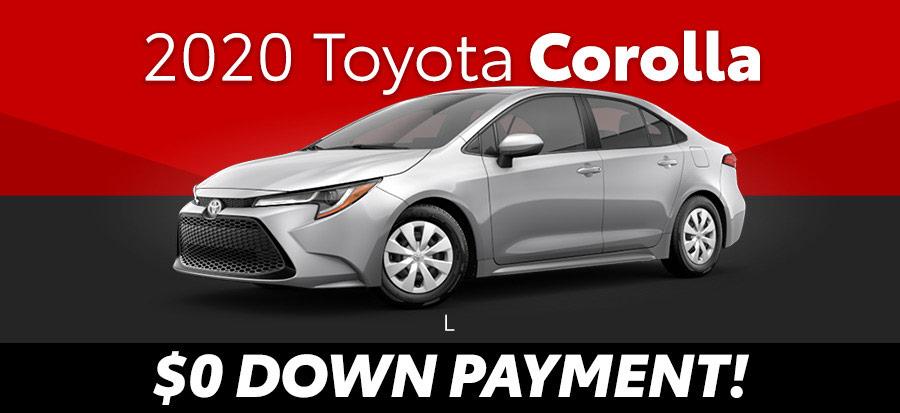 2020 Toyota Corolla L (293361)