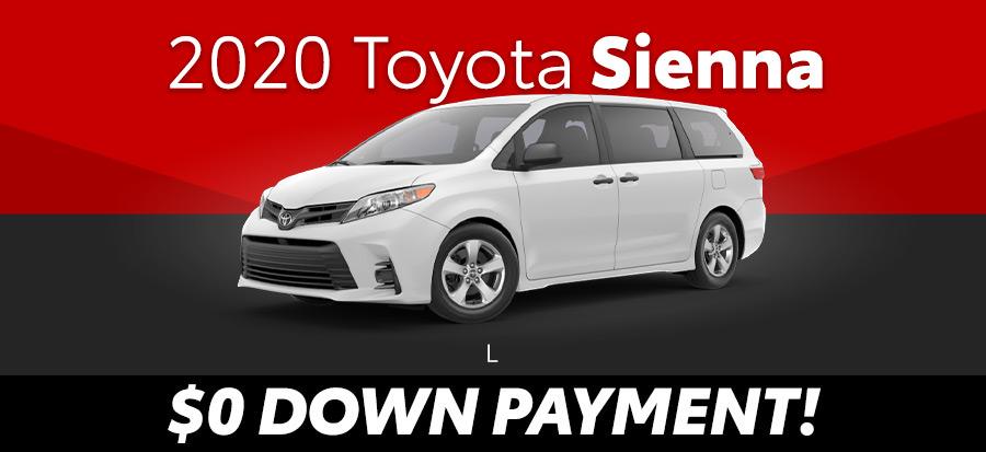 2020 Toyota Sienna L FWD (293674)