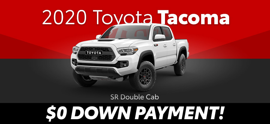 2020 Toyota Tacoma SR Double Cab 4 cyl 2wd (293645)