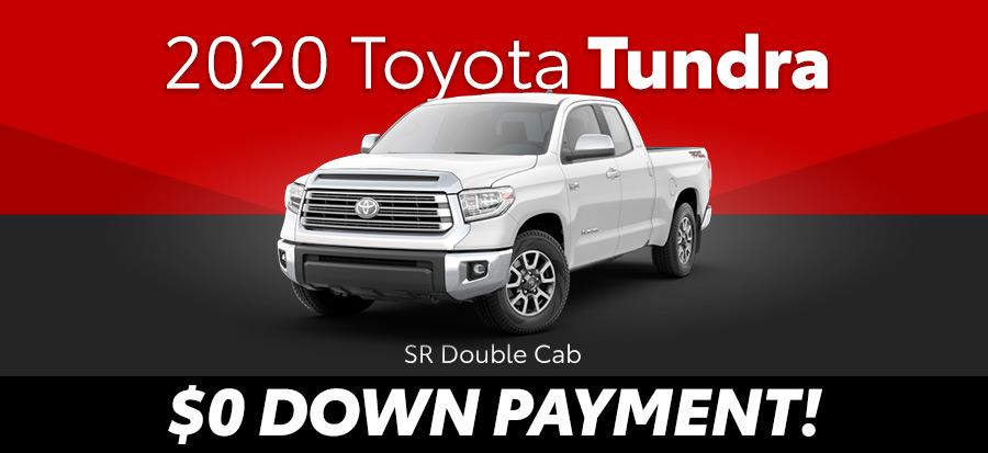 2020 Toyota Tundra SR Double Cab 5.7L V8 2wd (293643)