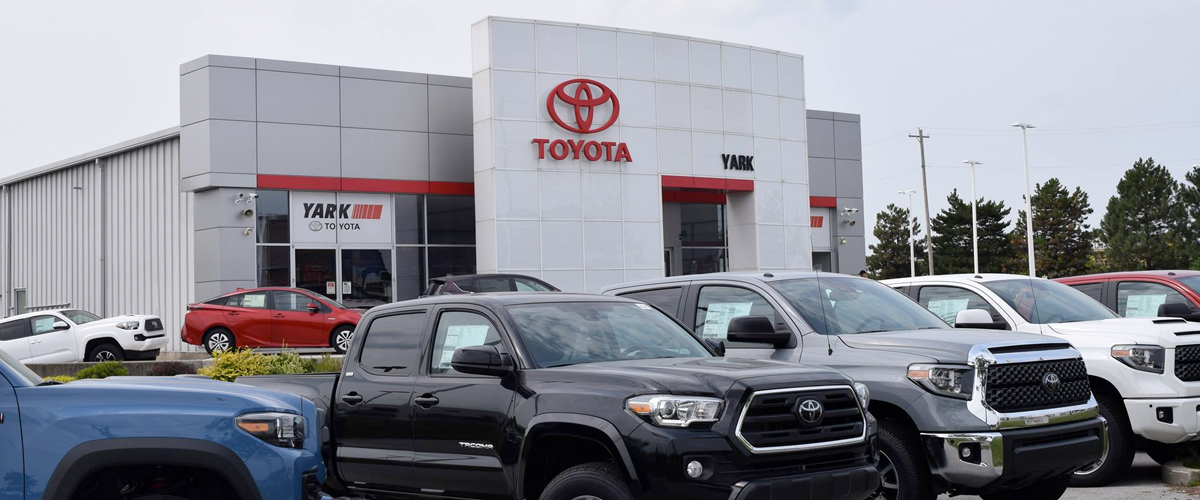 Visit Yark Toyota Today, Proudly Serving The Greater Toledo Area header