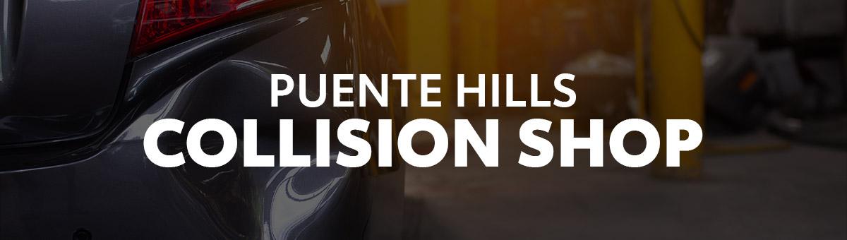Puente Hills Collision Shop Header