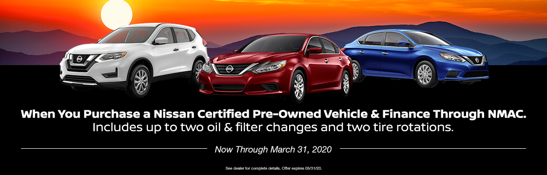 1 Year Complimentary Nissan Security+Plus Basic Prepaid Maintenance Plan